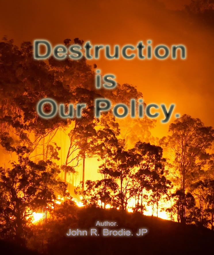 Destruction Is Our Policy - John Brodie